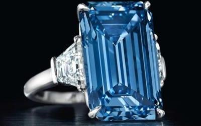 Arpege Diamonds Presents Famous Blue Diamonds: The Oppenheimer Blue