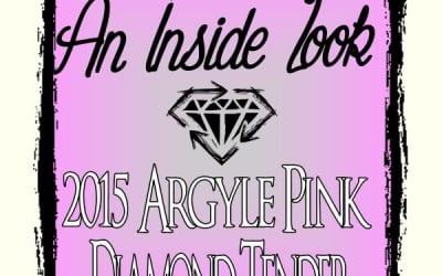 An Inside Look at the 2015 Argyle Diamond Tender