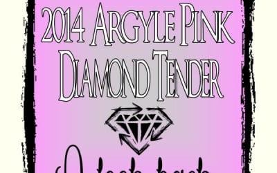 2014 Argyle Pink Diamond Tender: A Look Back