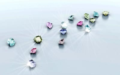 Colored Diamonds: 2015 in Review