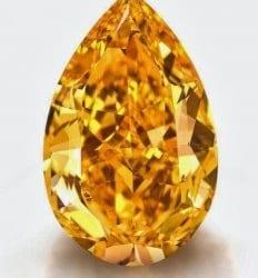 Record Prices for Orange Diamonds
