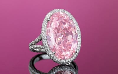 "The Fruition of a Promise: Rare Pink Diamond ""The Pink Promise"" Sold For Nearly $32 Million"