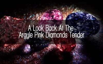 A Look Back At The Argyle Pink Diamonds Tender