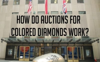How Do Auctions Work For Colored Diamonds?