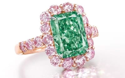 The World's Most Famous Green Diamonds