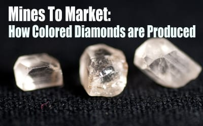 Mines To Market: How Colored Diamonds are Produced
