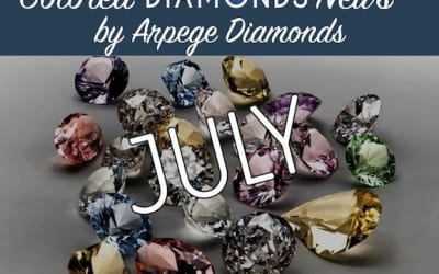 Colored Diamonds News From July 2018
