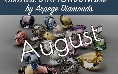 Colored Diamond News From August 2017