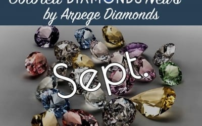 Colored Diamonds News From September 2018