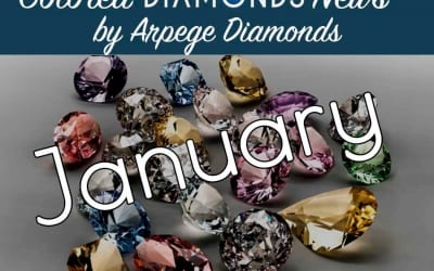 Colored Diamonds: News From January 2018