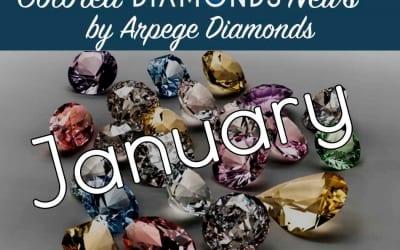 January Colored Diamonds News