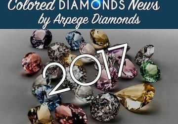 Colored Diamonds News From The First Half of 2017