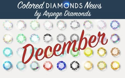 Colored Diamond News From December 2017