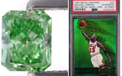 Green – The Color of March Investment Collectibles