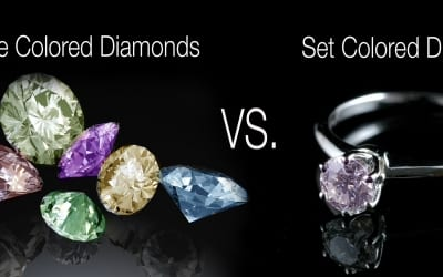 Are Loose Colored Diamonds or Set Diamonds a Better Investment?