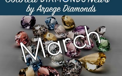 Colored Diamonds News From March 2018!