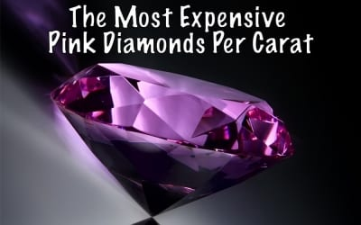 The Most Expensive Pink Diamonds per Carat