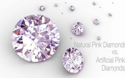Natural Pink Diamonds vs. Artificially Colored Pink Diamonds