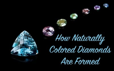 How Naturally Colored Diamonds are Formed