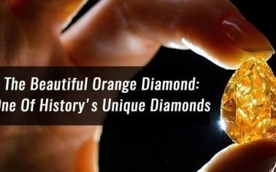 The Beautiful Orange Diamond: One Of History's Unique Diamonds
