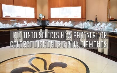 Rio Tinto Selects New Partner for Colored Diamonds & Pink Diamonds