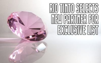 Rio Tinto Chooses Select Atelier For Argyle Pink Diamonds