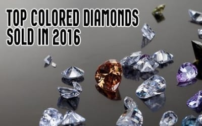 9 Top Colored Diamonds Sold In 2016